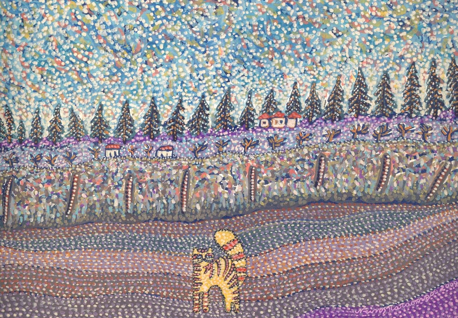 Ντίνος παπασπύρου , τοπίο (2)
